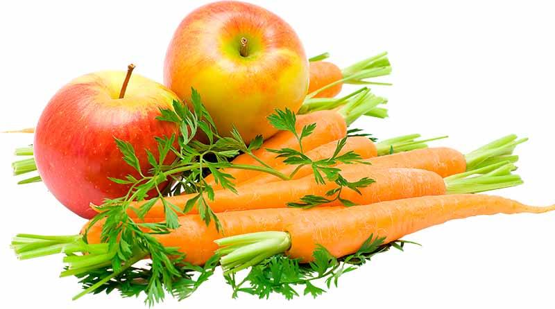 Frugt og grønt: Væskekilde til melorm